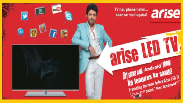 Who is the brand ambassador of Arise India LTD