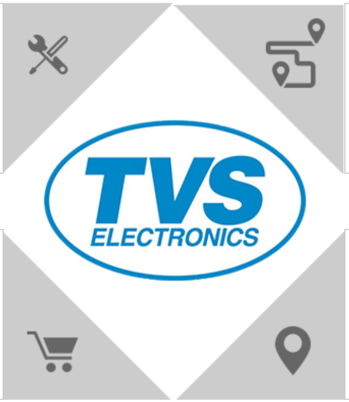 Who is the owner of TVS Electronics India - Wiki and Logo