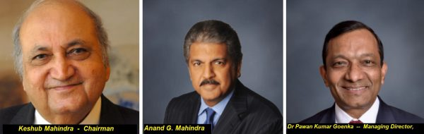 Owner of Mahindra & Mahindra Ltd -Wiki - profile