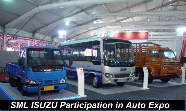 Participation in Auto Expo - owner of SML Isuzu Ltd -Wiki
