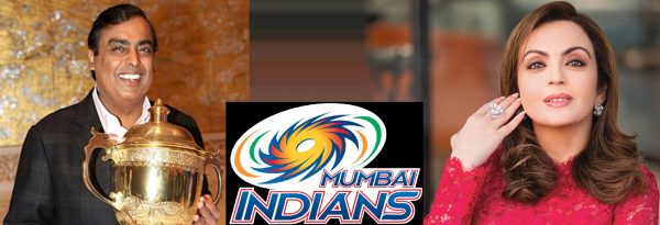 Owner of Mumbai Indians Team India -Wiki - Logo - profile