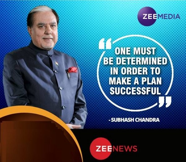 owner of Zee News India - Founder - Wiki and Profile